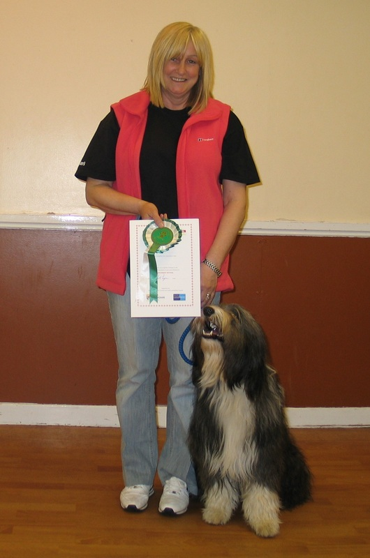 Test results - Bellshill Dog Training Club